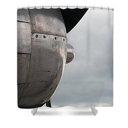 Prop In Sky Shower Curtain