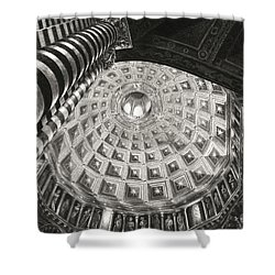 Prophets And Patriarchs Shower Curtain by Norman Bean