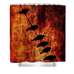 Prophets Shower Curtain by Andrew Paranavitana