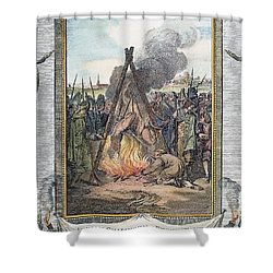 Protestant Martyrs, 1563 Shower Curtain by Granger