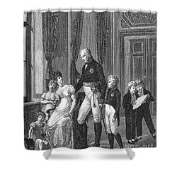 Prussian Royal Family, 1807 Shower Curtain by Granger