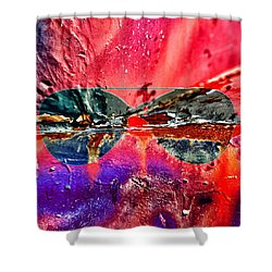Psychedelic Spectacle  Shower Curtain by Jerry Cordeiro