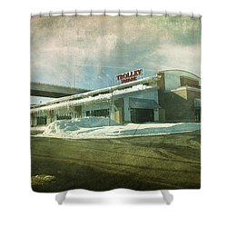 Pullman's Restaurant Shower Curtain by Joel Witmeyer