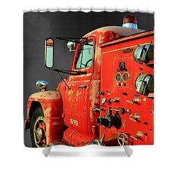 Pumper No. 2 - Retired Shower Curtain