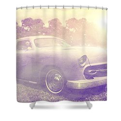 Purple Dream Shower Curtain