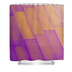 Purple Orange I Shower Curtain