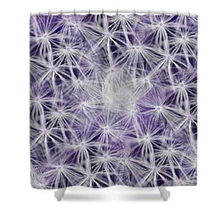 Purple Wishes Shower Curtain