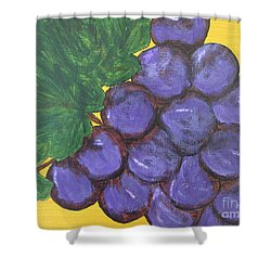 Purplest Purple Shower Curtain