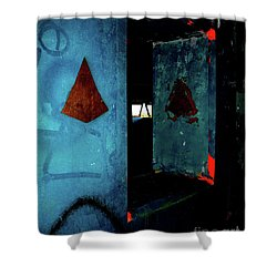 Shower Curtain featuring the photograph Pyramid Power by Newel Hunter