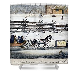 Quakers Shower Curtain by Granger
