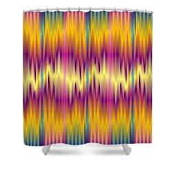 Quantum Medley 2 Shower Curtain