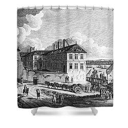 Quebec: Ruins, 1761 Shower Curtain by Granger