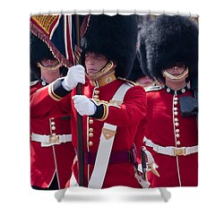 Queens Guards Shower Curtain