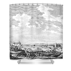 Quiberon Expedition, 1795 Shower Curtain by Granger