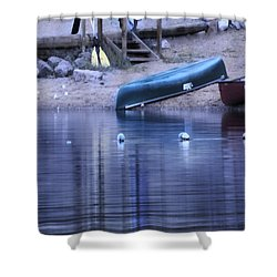 Quiet Canoes Shower Curtain