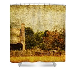 Quiet Life Shower Curtain by Andrew Paranavitana