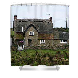 Quintessential England Shower Curtain by Carla Parris
