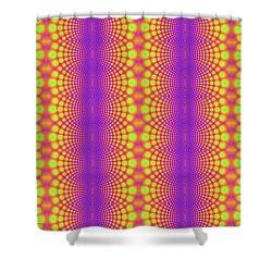 Radiating Shower Curtain by Clayton Bruster