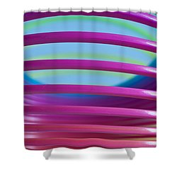 Rainbow 9 Shower Curtain by Steve Purnell