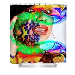 Rainbow Beauty Shower Curtain