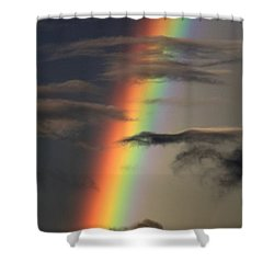 Rainbow Islands Shower Curtain