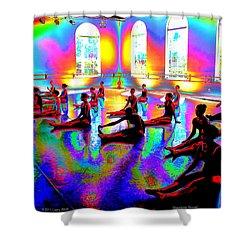 Rainbow Room Shower Curtain