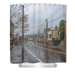 Rainy Day Nikko Shower Curtain