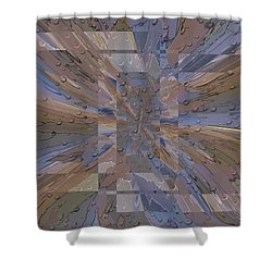 Rainy Day Portal 1 Shower Curtain by Tim Allen
