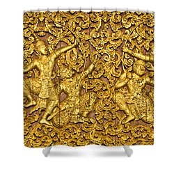 Shower Curtain featuring the photograph Ramayana by Luciano Mortula