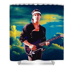 Randy In The Clouds 2 Shower Curtain by Ben Upham