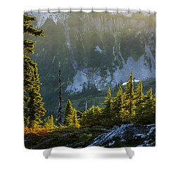 Rare Sunset Shower Curtain by Albert Seger