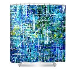 Raw Silk Shower Curtain