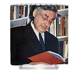 Raymond Queneau (1903-1976) Shower Curtain by Granger