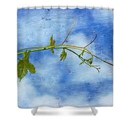 Reaching Out Shower Curtain by Heidi Smith