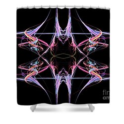 Reaction Shower Curtain