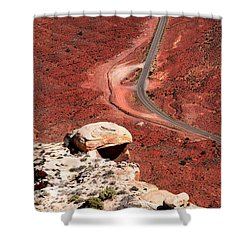Red Rover Shower Curtain