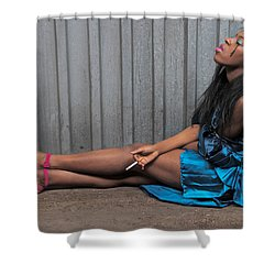 Shower Curtain featuring the photograph Red Stilettos by Alice Gipson