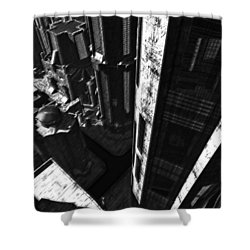 Redemption Shower Curtain by Richard Rizzo