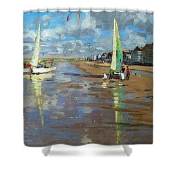 Reflection Shower Curtain by Andrew Macara