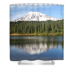 Reflection Lake - Mt. Rainier Shower Curtain