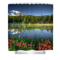 Reflection Lakes Shower Curtain