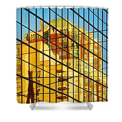 Reflections 1 Shower Curtain by Mauro Celotti