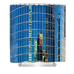 Reflections 3 Shower Curtain by Mauro Celotti