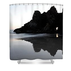 Reflections Big Sur Shower Curtain by Bob Christopher