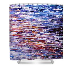 Reflections Shower Curtain by Kume Bryant
