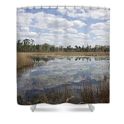 Shower Curtain featuring the photograph Reflections by Lynn Palmer