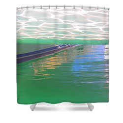 Reflections Shower Curtain by Nareeta Martin
