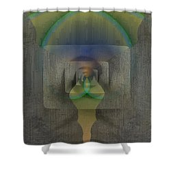 Reflections Of The Soul Shower Curtain by Tim Allen
