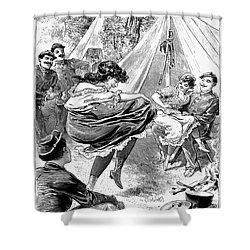 Reform School Girls, 1895 Shower Curtain by Granger
