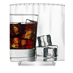 Refreshment Shower Curtain by Gert Lavsen